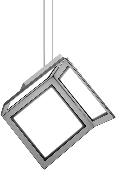 hanging OLED light