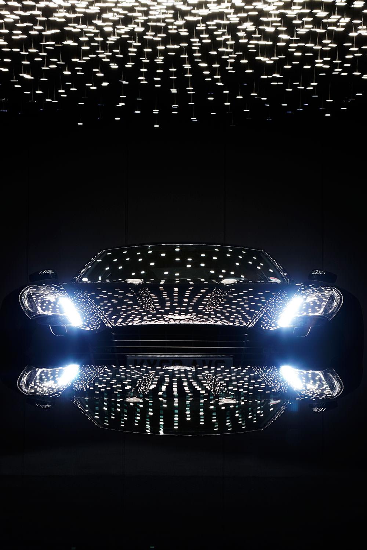 750 OLEDs illuminate the Aston Martin One-77