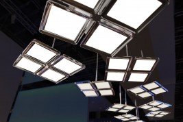 suspended OLED luminaire ThinAir fromPhilips