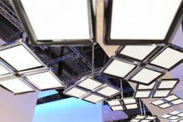 suspended OLED luminaire ThinAir from Philips