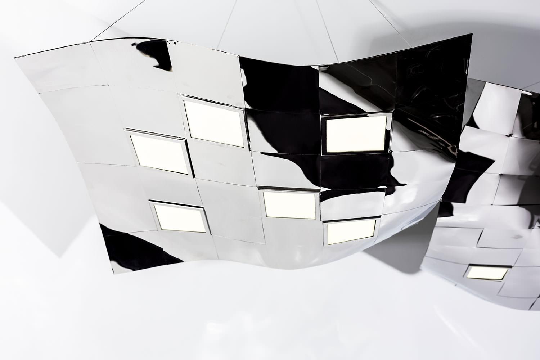pendant OLED luminaire Pixelate from Birot