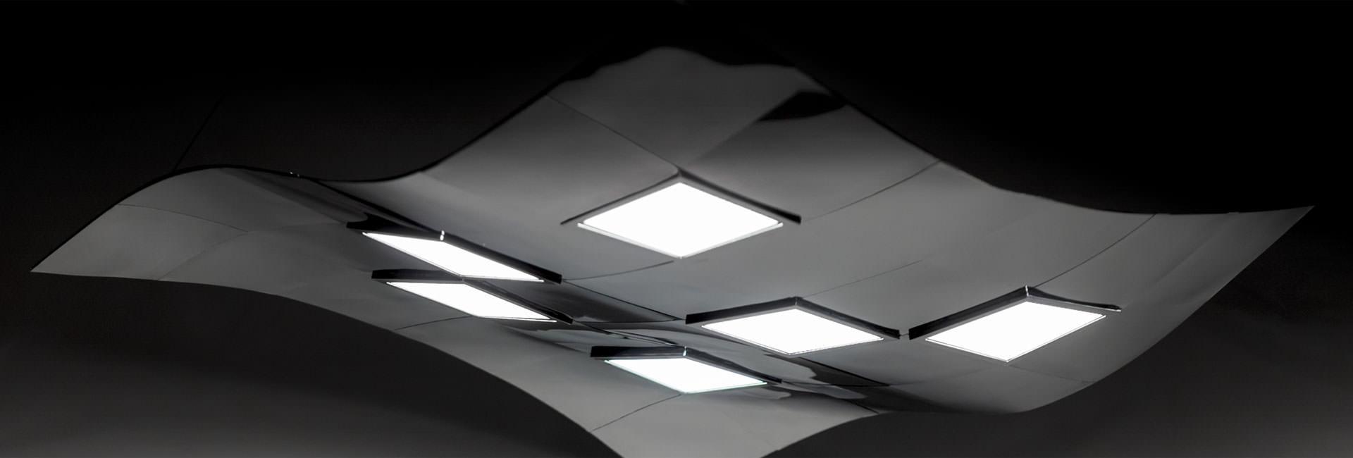 pendant OLED luminaire Pixelate by Birot