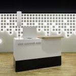 Neue Aargauer Bank with interactive OLED lighting installation