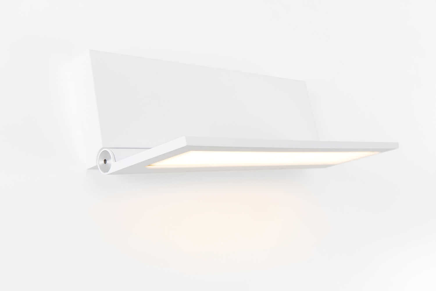 OLED fixture Wollet in white from Modular Lighting Instruments