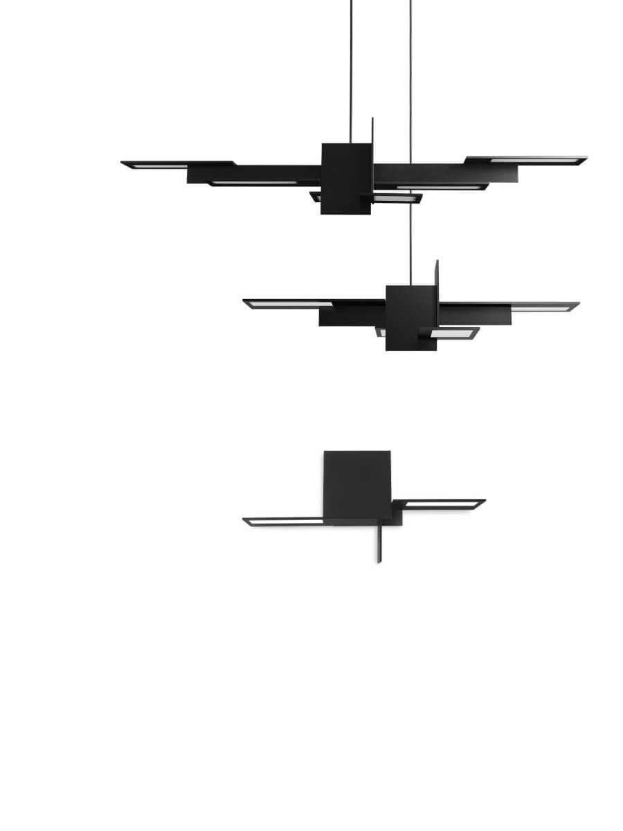 complete OLEDRIAN family of OLED fixtures by AQForm