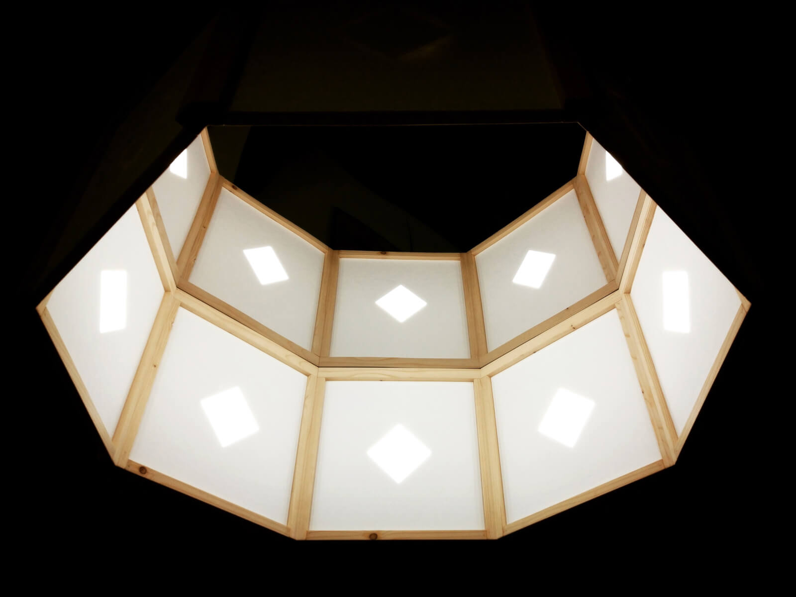 OLED chandelier MAMA NON MAMA by Manifattura Macchine Sofici