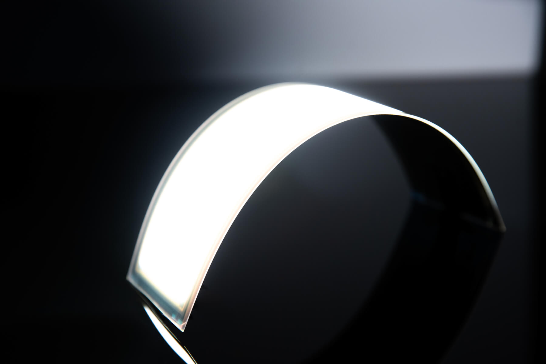 Flexible OLED lighting panel