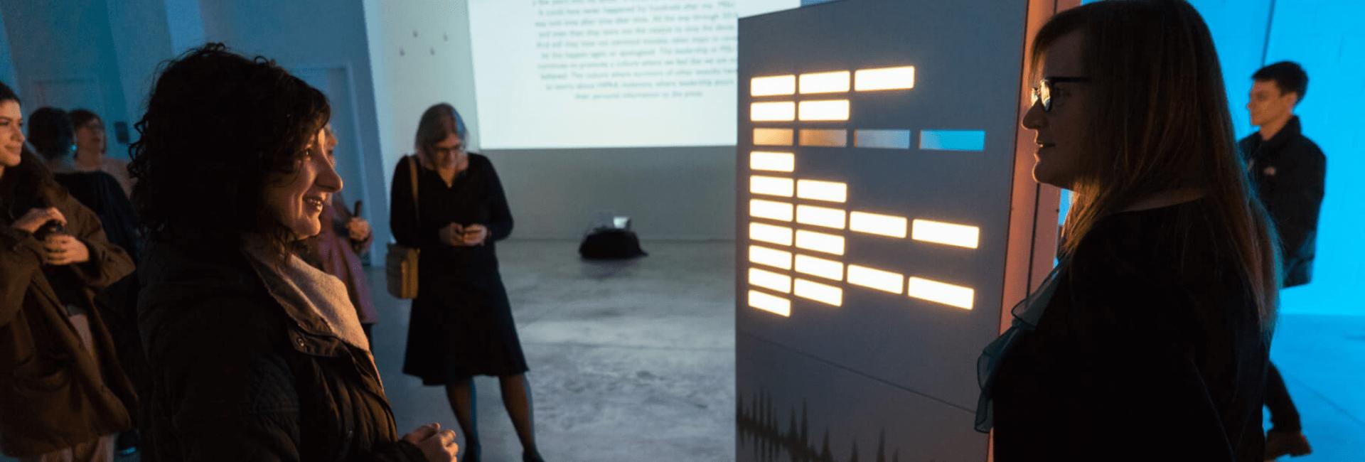 MSU 'Illuminates Survivor Voices' with Beautiful OLED Installation