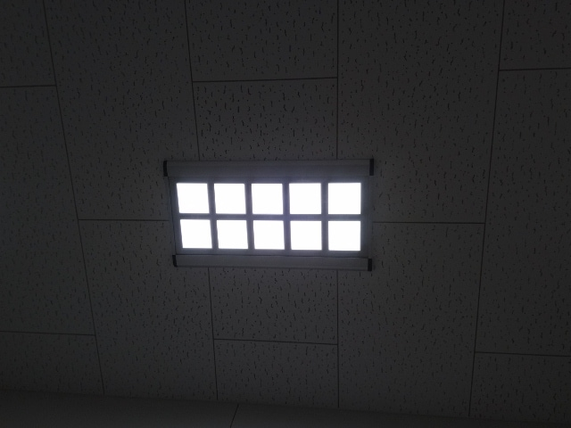 OLED recessed lighting fixtures Japanese Red Cross Kochi Hospital