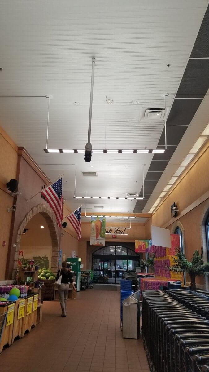 Wegmans Pittsford OLED lights