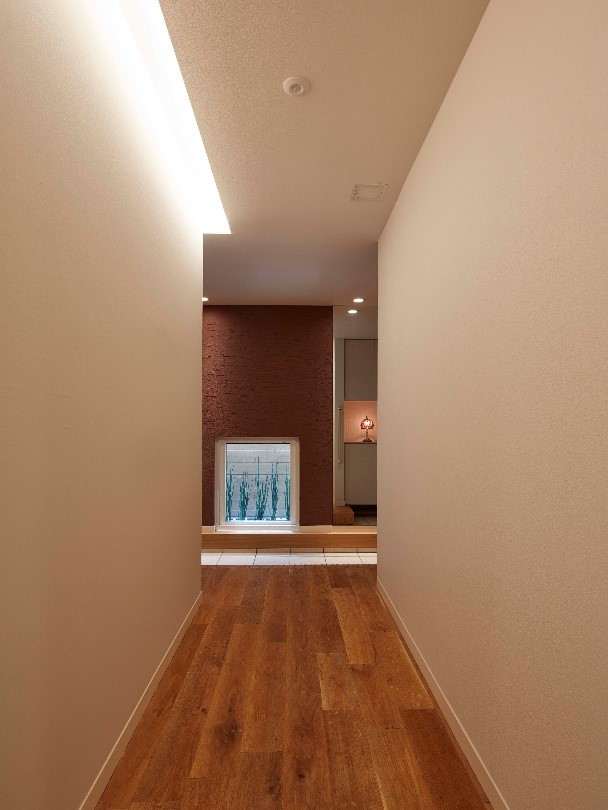 OLED Lights in the Hallway