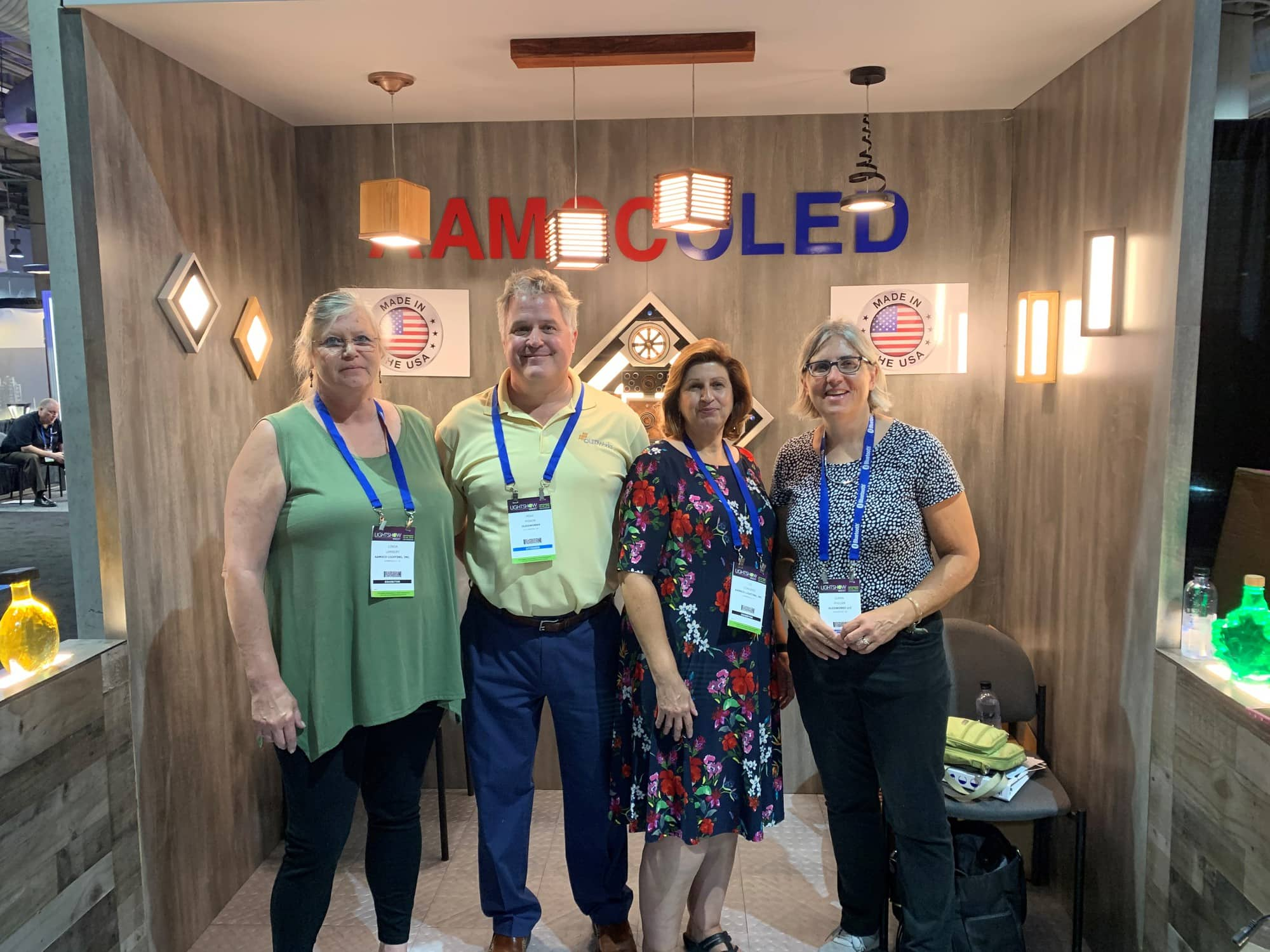OLEDWorks and Aamsco Lighting Teams at LSW 2019 | OLEDWorks