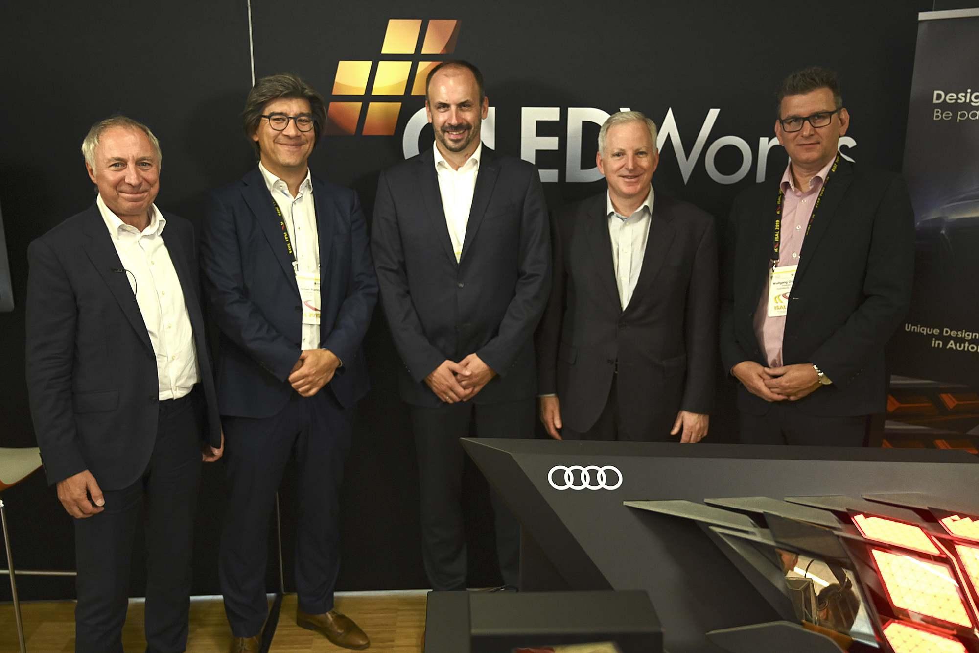OLEDWorks and Audi Team at ISAL 2019 | OLEDWorks