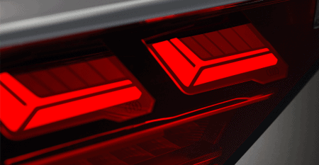 Audi's Digital OLED Taillight | OLEDWorks