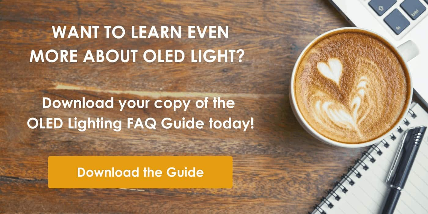 Download OLED Light FAQ Guide CTA | OLEDWorks