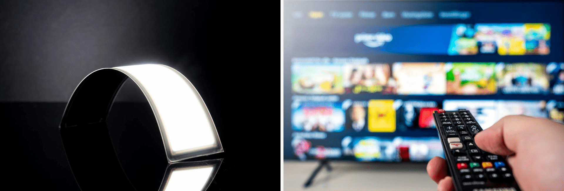 The Difference Between OLED Display and OLED Light Technology