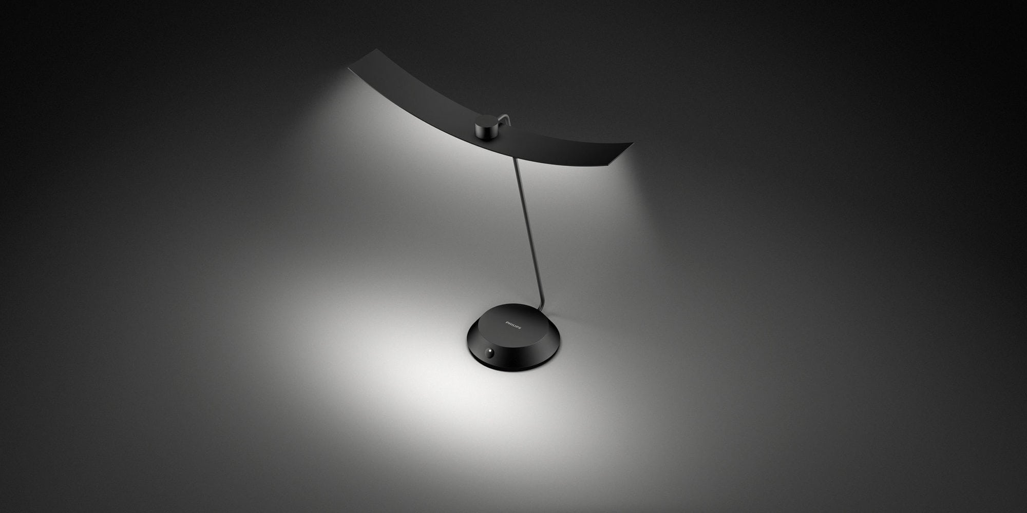 Philips Moon Table Lamp Topview
