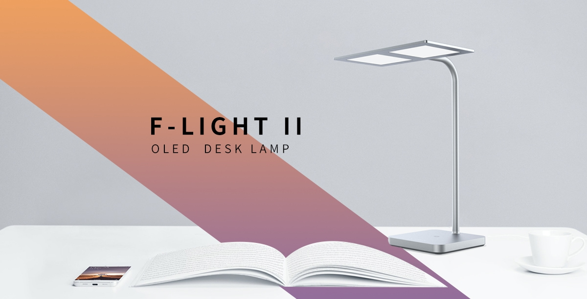 F-Light II OLED desk lamp 1