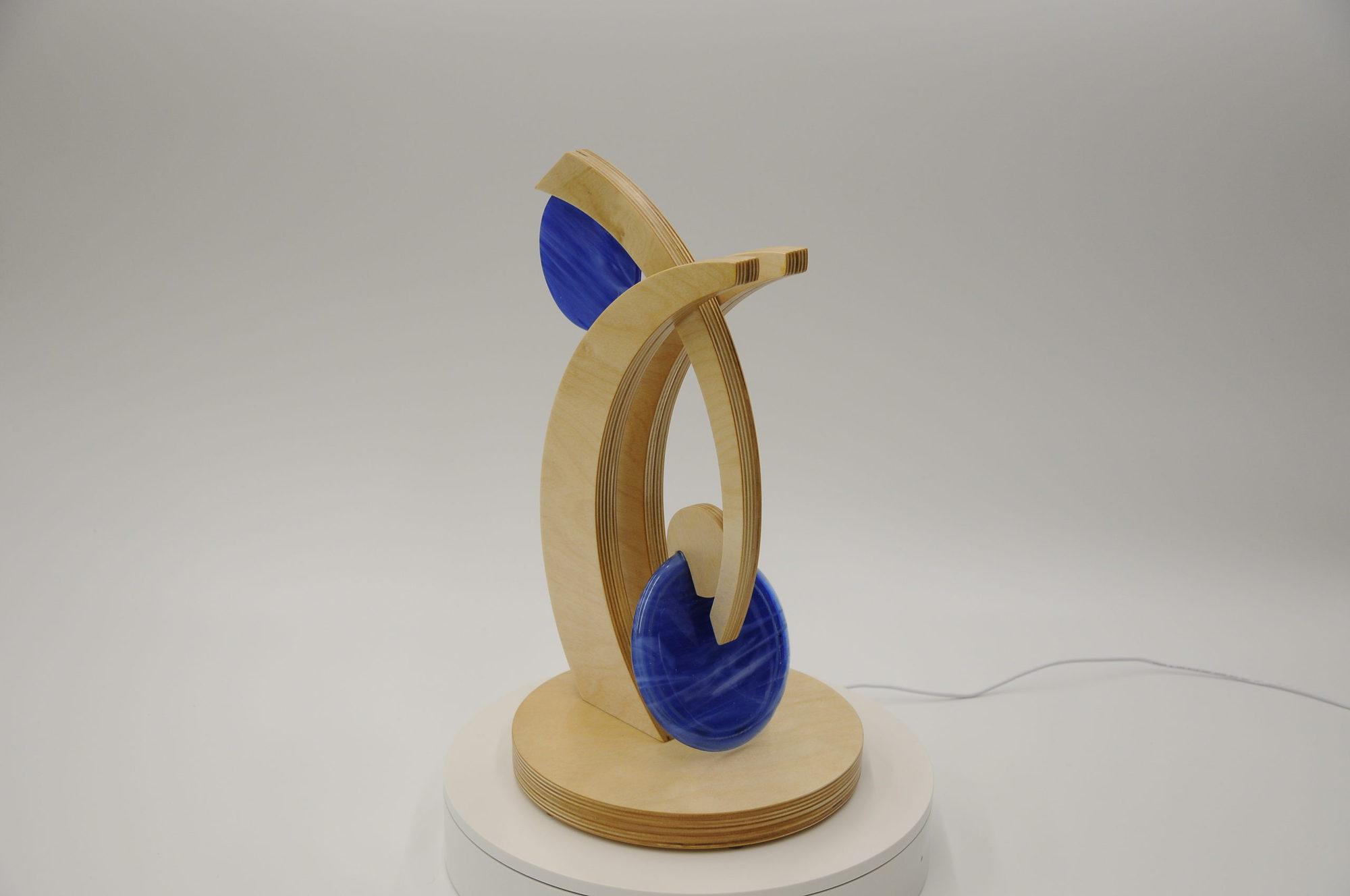 Eric Light - Blue Glass