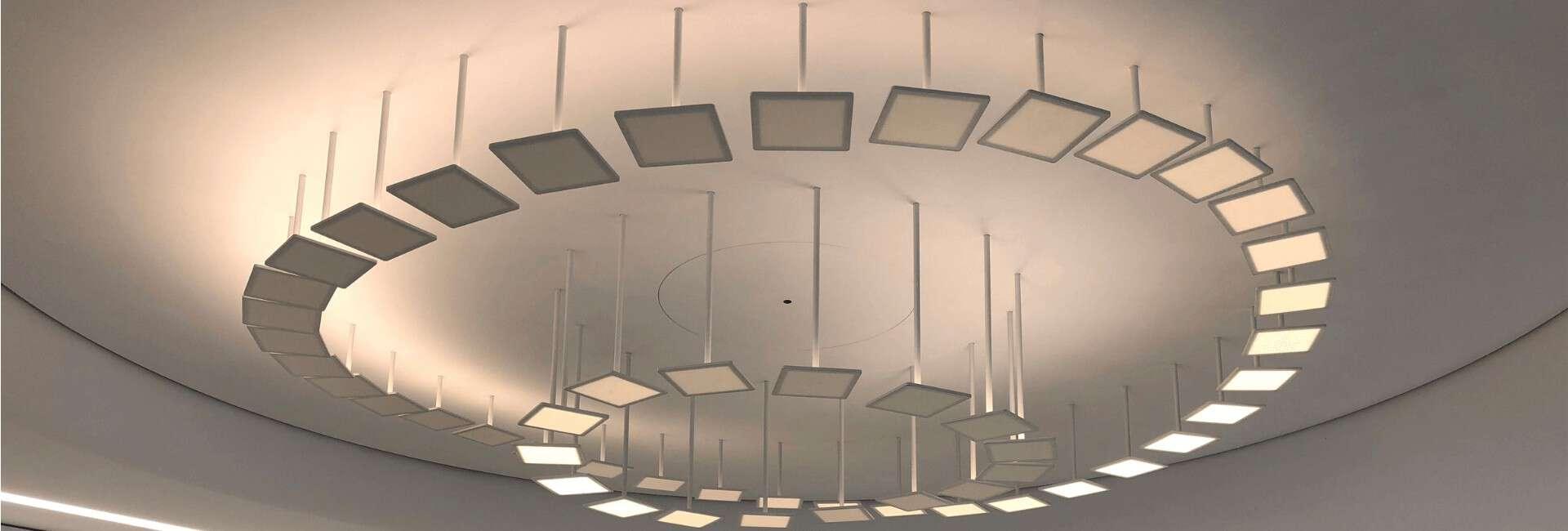 Interactive OLED installation