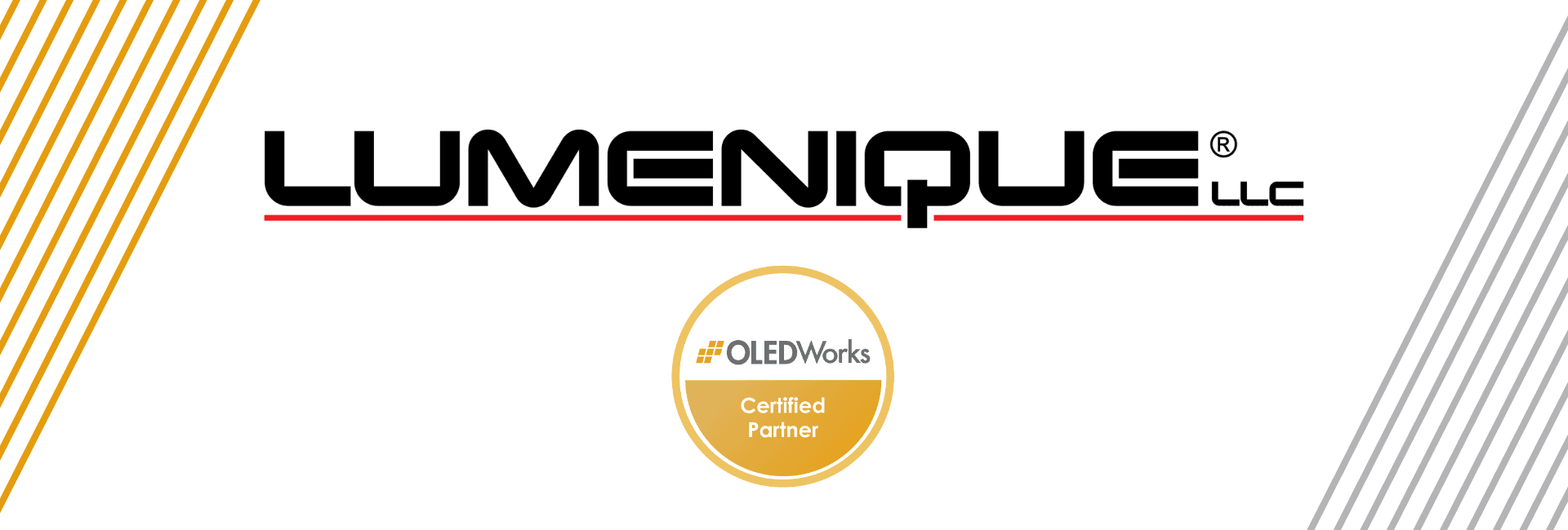 [Press Release] Lumenique LLC Announces Partnership with OLEDWorks to Elevate the Next Generation of Sculptural Portable Lighting