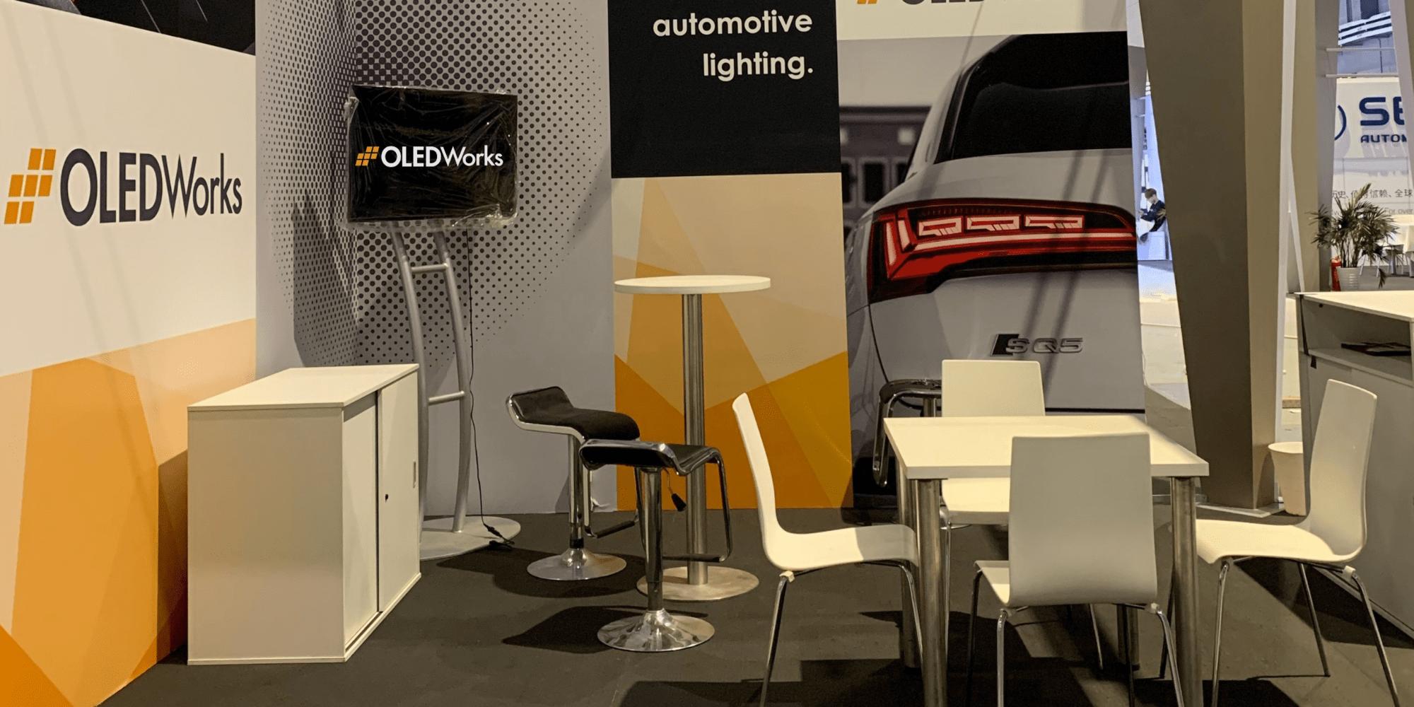 OLEDWorks Auto Shanghai Booth