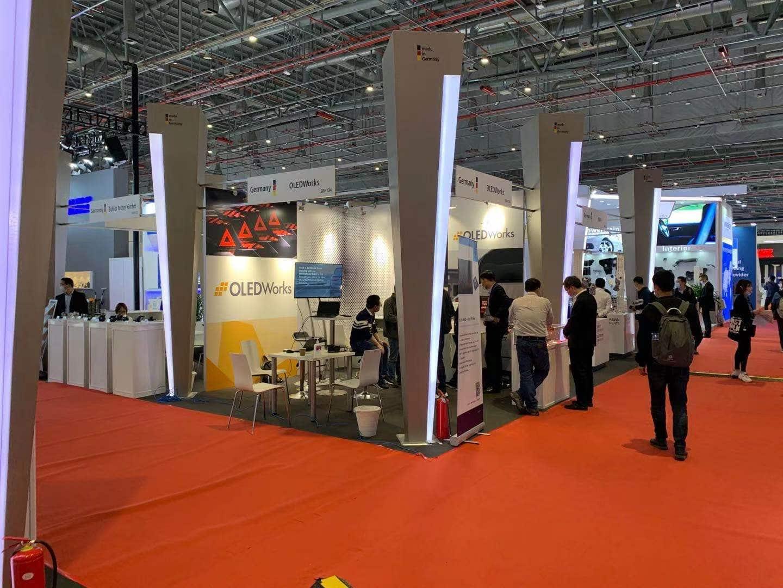 OLEDWorks Booth at Auto Shanghai