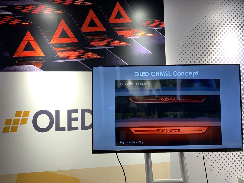 OLED CHMSL Concept