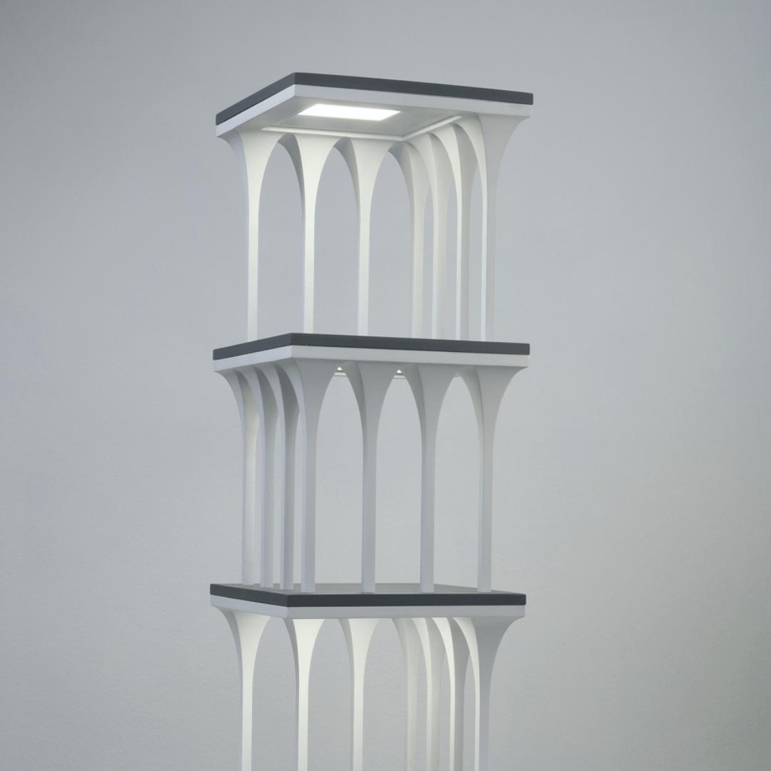 Colonnade OLED fixture, Lumenique